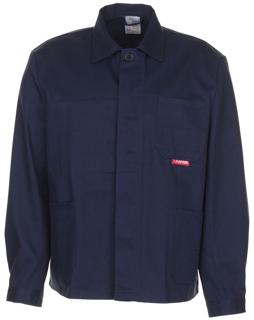0102 Planam Arbeitsjacke BW 290 hydronblau Berufssbekleidung günstig NEU