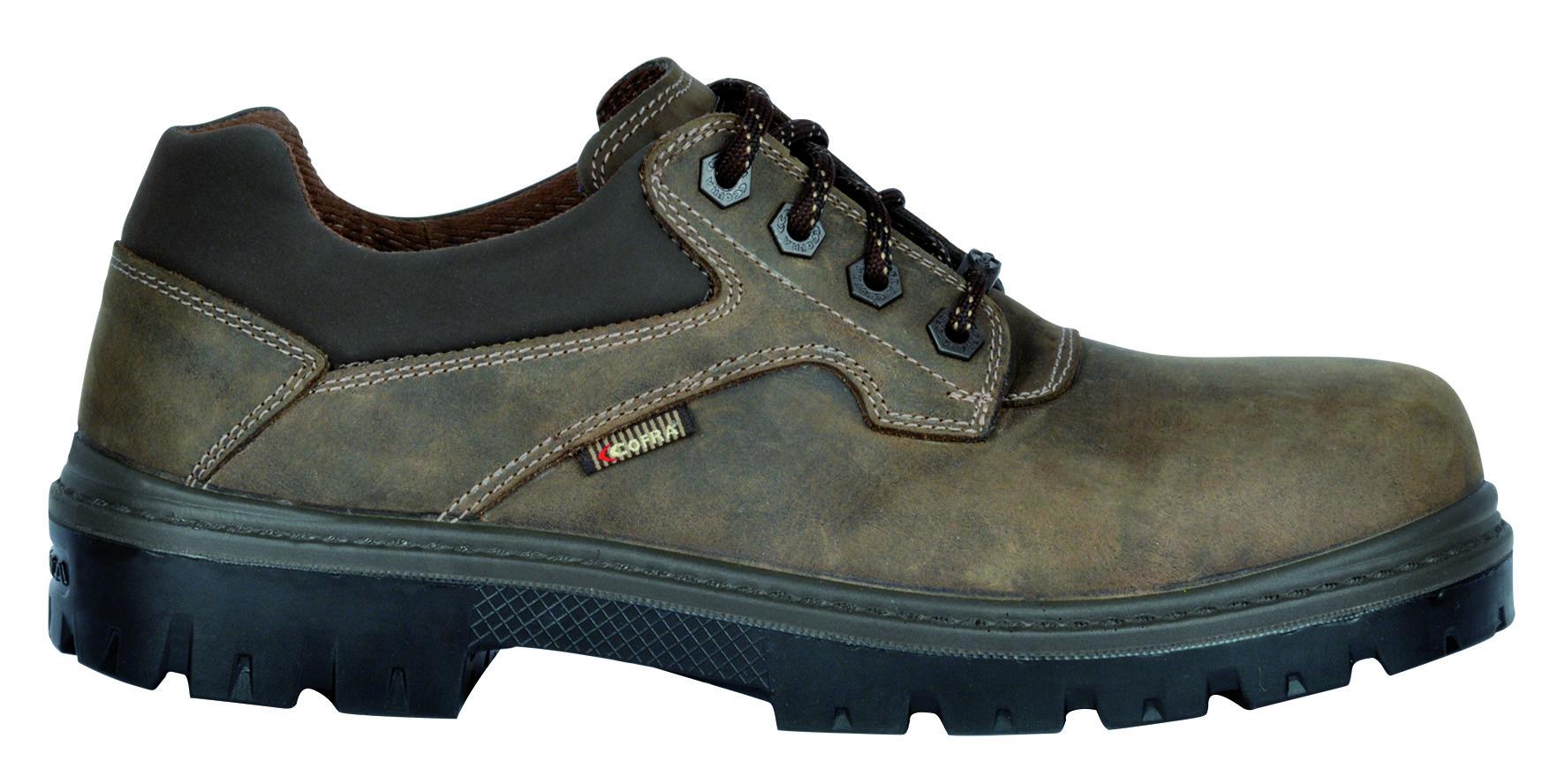 COFRA TERAINA S3 SRC, Arbeits Berufs Sicherheits Schuhe, Halbschuhe, braun