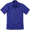 Kübler-Workwear, Arbeits-Berufs-Hemd, Kurzarm Shirt-Dress Form 506 kornblau