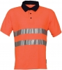 HAVEP-Warnschutz, Poloshirt, 210 g/m², orange/marine