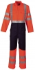 HAVEP-Warnschutz, Warn-Overall, 320 g/m², fluor orange/marine