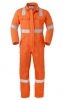 HAVEP-Warnschutz, Warn-Overall, 5safety, Reflektionsstreifen, 280g/m² orange