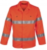HAVEP-Warnschutz, Warn-Langjacke, 290 g/m², fluor-orange