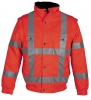 HAVEP-Warnschutz-Allwetterjacke, 240 g/m², fluor-orange