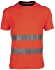 HAVEP-Warnschutz, T-Shirt, 185 g/m², fluor-orange