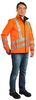 WATEX-Warn-Softshell-Jacke, leuchtorange