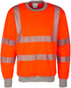 WATEX-Warnschutz, Sweat-Shirt, leuchtorange