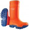 WATEX-S5-PU-Sicherheits-Winterstiefel, Dunlop Purofort, Thermo + Full Safety, orange