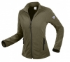 BP-Damen-Fleecejacke, 275 g/m², oliv