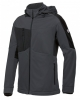BP-Herren-Softshelljacke, BPlus Modern Stretch, anthrazit/schwarz