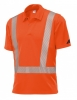 BP-Warnschutz, Warn-Polo-Shirt Hi-Vis Protect warnorange