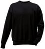ROFA-SJ-Sweat-Shirt, ca. 300 g/m², schwarz