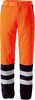ROFA-Warnschutz, Warn-Schutz-Bund-Hose Duo-Color Atlas/Satin orange/marine