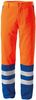 ROFA-Warnschutz, Warn-Schutz-Bund-Hose Duo-Color Atlas/Satin orange/kornblau