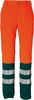 ROFA-Warnschutz, Warn-Schutz-Bund-Hose Duo-Color Atlas/Satin orange/grün