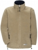 PLANAM Winter-Fleece-Jacke Stream camel/marine