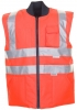 PLANAM Warn-/Wetter-Schutz Winter-Weste uni orange