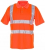 PLANAM Warnschutz, Warn-Polo-Shirt uni orange