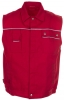 PLANAM-Workwear, Arbeitsweste MG Canvas 320 rot/rot
