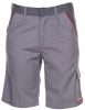 PLANAM-Workwear, Arbeits-Berufs-Shorts, MG Highline, zink/schiefer/rot