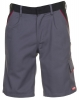 PLANAM-Workwear, Arbeits-Berufs-Shorts, MG Highline, schiefer/schwarz/rot