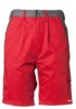 PLANAM-Workwear, Arbeits-Berufs-Shorts, MG Highline, rot/schiefer/schwarz