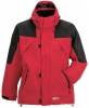 PLANAM Winter-Jacke Redwood rot/schwarz