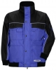 PLANAM Winter-Blouson Dust royalblau/schwarz