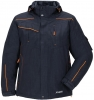 PLANAM Winter-Jacke Neon, marine/orange