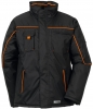 PLANAM Winter-Jacke Piper schwarz/orange