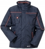 PLANAM Winter-Jacke Piper marine/orange