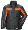 PLANAM Winter-Jacke Cosmic anthrazit/orange
