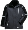 PLANAM Winter-Parka Cross, anthrazit/schwarz