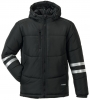 PLANAM-Winterjacke, Craft, schwarz