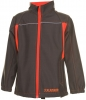 PLANAM-Junior Softshell Jacke, oliv/orange