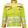 PKA-Warnschutz, Warnjacke, Bund-Jacke Safety Comfort gelb/orange