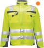PKA-Warnschutz, Warnjacke, Bund-Jacke Safety Comfort orange/grau
