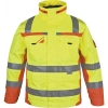 PKA-Winter-Warn-Schutz-Parka, ca. 280g/qm, gelb/orange