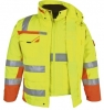 PKA-Winter-Warn-Schutz-Parka 3in1, ca. 280g/qm, gelb/orange