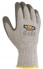 BIG-TeXXor Polyester-Strick-Arbeits-Handschuhe Winter-Grip, grau