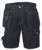 BIG-TeXXor-Workwear, Bermuda-Arbeits-Berufs-Shorts, Canvas, schwarz