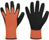 F-STRONGHAND-Latex-Arbeits-Handschuhe Arwed, orange/schwarz