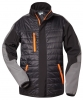 F-ELYSEE-Steppjacke, *STOCKHOLM*, schwarz/grau/orange