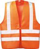 F-WICATEX-Warnschutz, Textil Warn-Weste Wilfried orange