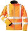 F-SAFESTYLE Softshell Warn-Schutz-Jacke Tyler orange