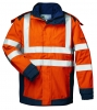 F-ELYSEE-Warnschutz-Multinorm-3in1 Jacke *ARNOLD*, orange/marine