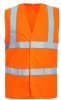F-SAFESTYLE-Warnschutz-Weste, *TAMMO*, fluoreszierend orange