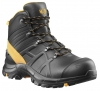 HAIX 610031-S3 Sicherheitsschuhe, hoch, BLACK EAGLE Safety 54, MID BLACK/ORANGE, schwarz/orange