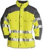 KEMPEL Long-Jacke, SYMPATEX PLUS warngelb/anthrazit, Gr. L