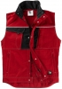 BEB-Workwear, Weste Inflame, 245 g/m², fire engine red/schwarz